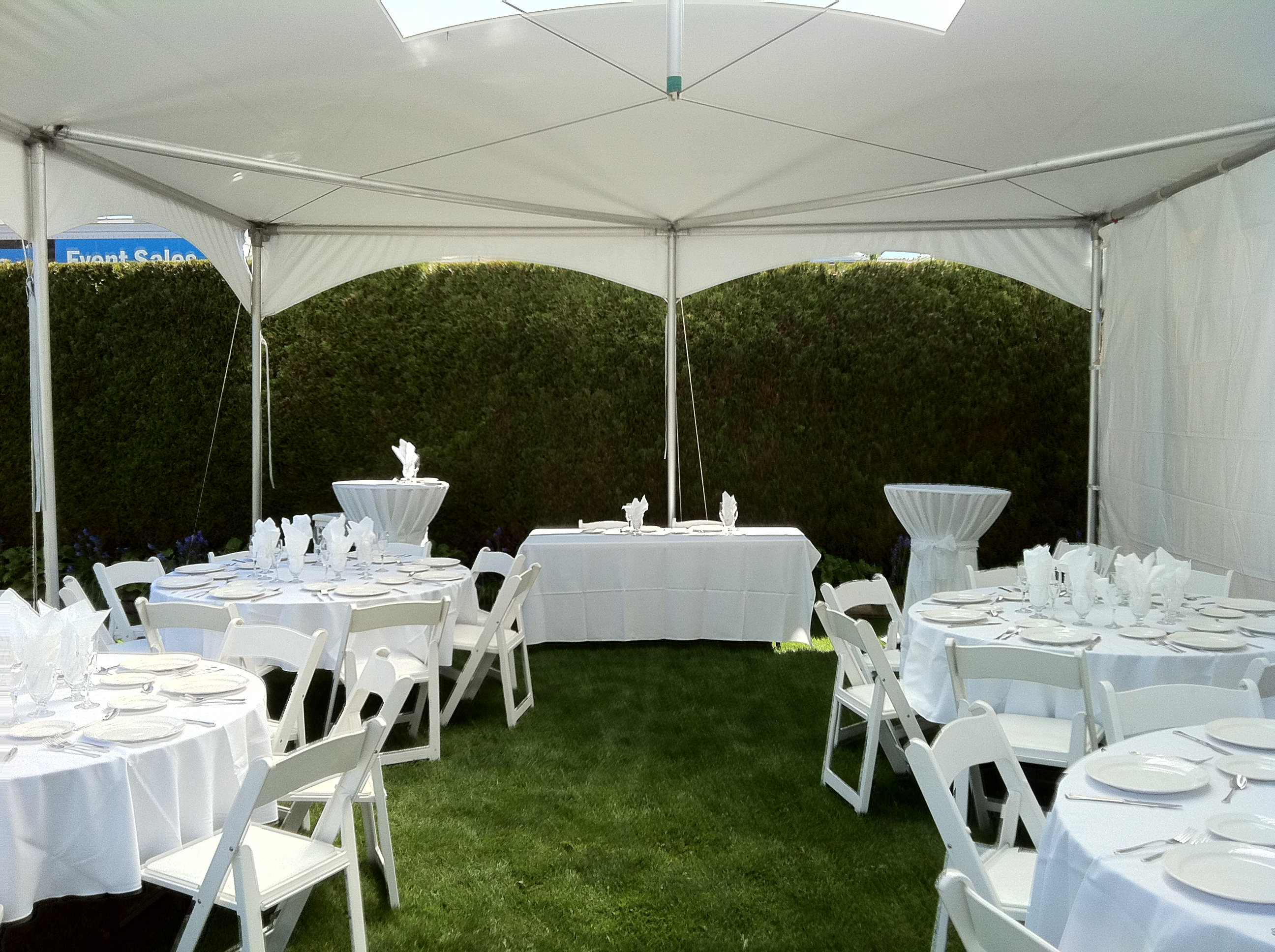 Small Private Backyard Event May 2012